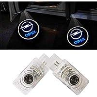 ZTMYZFSL 2 Stücke Auto Logo Projektion LED Projektor Tür geister Shadow Light Willkommen Lampe Licht