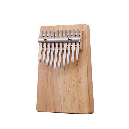 Monllack Akazie Mahagoni Massivholz Finger Daumen Klavier Taschenformat Tasche Tastatur Marimba Holz Musikinstrument (Tasche Tastatur Musikalische)