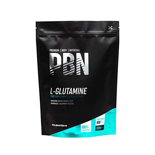PBN - Paquete de L-glutamina, 500 g (sabor natural)