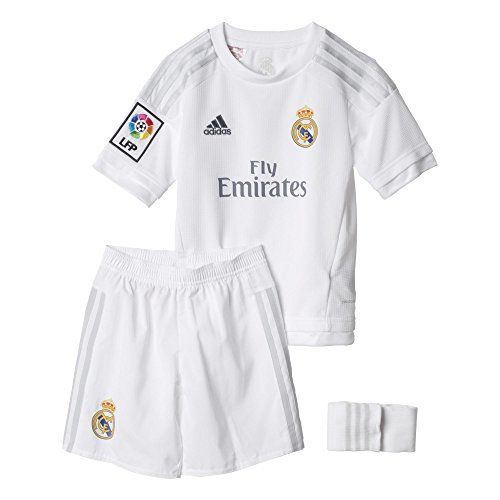Adidas Maillots de joueur Real Madrid Home Mini Kit 2015-2016 3a Junior