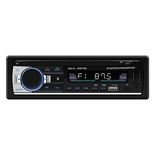 Broadroot SWM 530 LCD Car MP3 Musik-Player FM BT 4.0 Dual USB AUX Head Unit -