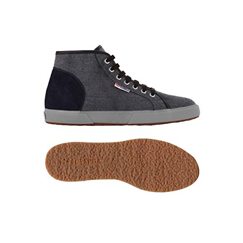 Sneakers - 2172-woolsueu GREY-BLUE-GREYMIN