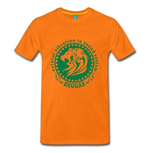 Spreadshirt Natural Vibration Reggae Men's T-Shirt