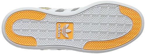 adidas Unisex-Erwachsene Varial Low Skaterschuhe Mehrfarbig (Mgh Solid Grey/Ftwr White/Solar Gold)