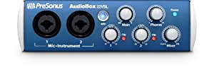 Presonus AudioBox 22 VSL Interface audio 2 entrées/2 sorties USB 2.0 Noir