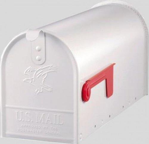 Amerikanischer Briefkasten weiß - 3