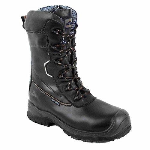 Portwest Fd01 Compositelite™ Trazione 10 Pollici (25 Cm) Sicurezza Boot S3 Hro Nero