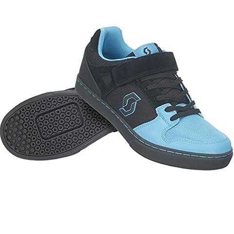 Scott FR 10 Clip MTB Freeride Fahrrad Schuhe schwarz/blau 2017: Größe: 42