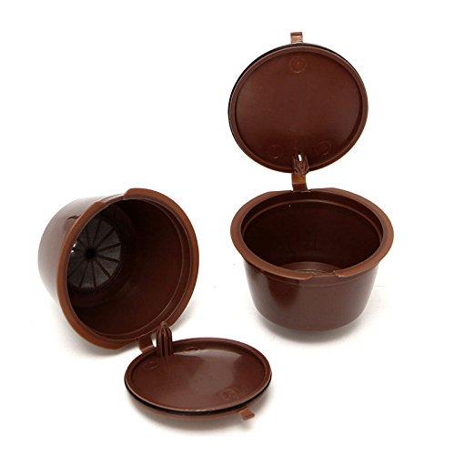 Xuxuou 2x kaffee Filterhalter coffee capsule Kaffee Filter Edelstahl Kaffeefilter handfilter...