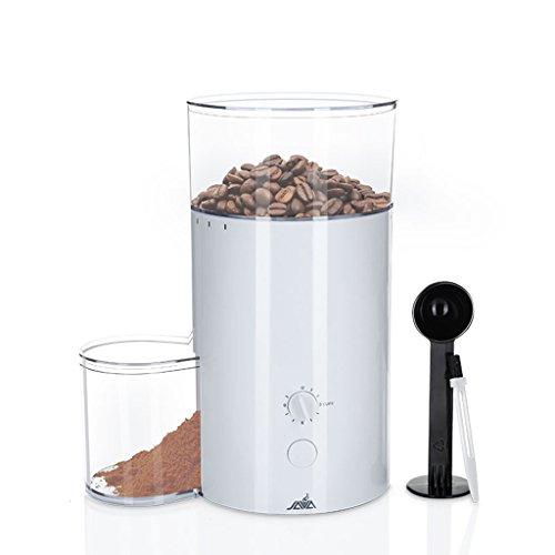 SX-ZZJ Elektrische Kaffeemühle mit Großer Mahlkapazität - Auch Geeignet für Gewürze, Kräuter, Nüsse, Getreide, Etc.