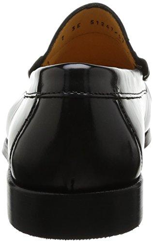 Florsheim Berkley 2 Herren Slipper Schwarz - Noir (Black Brush Off) mGsZd