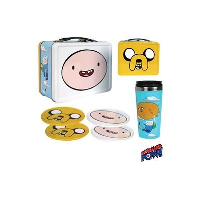 (Bif Bang Pow Adventure Time Tote Tin Gift Set - San Diego Comic Con Exclusive)