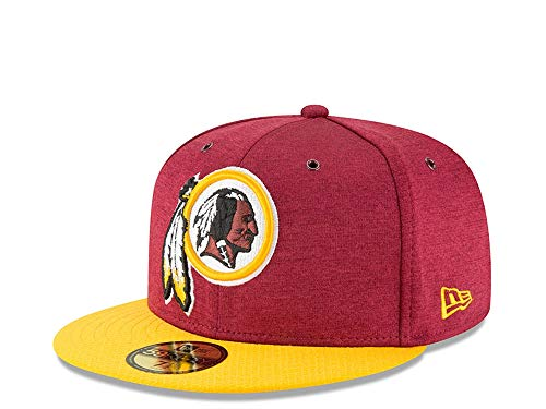 New Era Berretto Aderente NFL Sideline 59Fifty Home Washington Redskins  Official (7 3 8 142a90c1f679