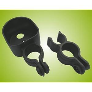Teckmedi Stockhalter für Rollatoren/Rollator für alle Standard-Rollatoren Top-Qualität