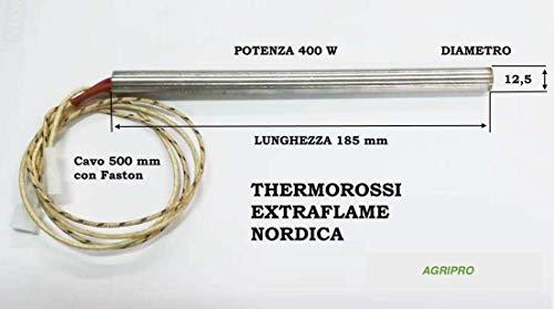 Zündkerzen für Pelletofen Harz 12,5 x 185 W 400