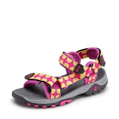 Jack Wolfskin  KIDS SEVEN SEAS, sandales mixte enfant pink passion 26