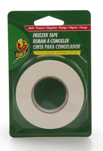 Ente Marke 280124Beschriftbares Gefrierschrank Tape, 3/4-Zoll von 30-yard, 1Rolle, weiß