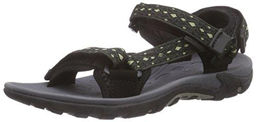 Northland Professional Outback Sandals, Sandali Uomo Nero (Black/stone)