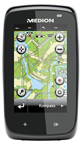 MEDION S3877 MD 99355 7,62cm (3 Zoll) Outdoor Navigationssystem (Touchscreen, Bluetooth) schwarz