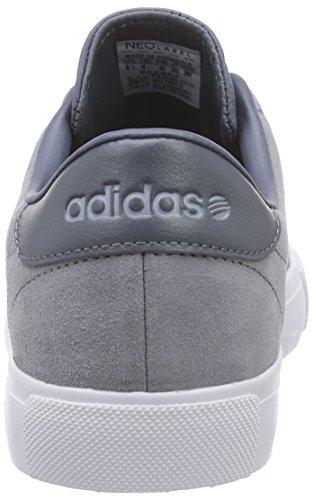 adidas NEO Herren Daily Line Low-Top Grau (Grey / White)