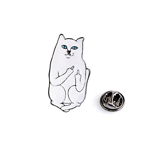 CAOLATOR Vintage Brooch Damen Brosche Tiere Broschen Kreativ Katzen Nadel Anstecker Anstecknadeln Geschenk Schmuck für Kleidung/Schals/Tücher/Ponchos (#5)