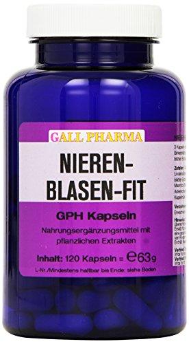 Gall Pharma Nieren-Blasen-Fit GPH Kapseln, 1er Pack (1 x 63 g)