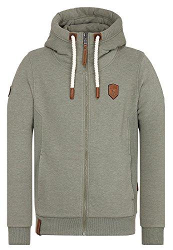 Preisvergleich Produktbild Naketano Male Zipped Jacket Birol Schwanz Melange,  XXL