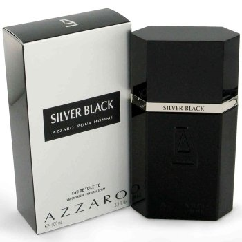 Azzaro Silver Black by Loris Azzaro for men 3.4 oz Eau De Toilette EDT spray