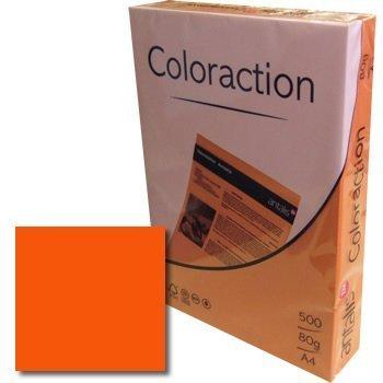 Galleria fotografica Immagine Coloraction A4210x 297mm 120gm2FSC4Printing Paper–Deep Orange