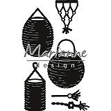 Marianne Design Craftables, Lanterna, Fustella da Taglio ed Embossing per Progetti Creativi, Metallo, Argento, 49 x 80 mm
