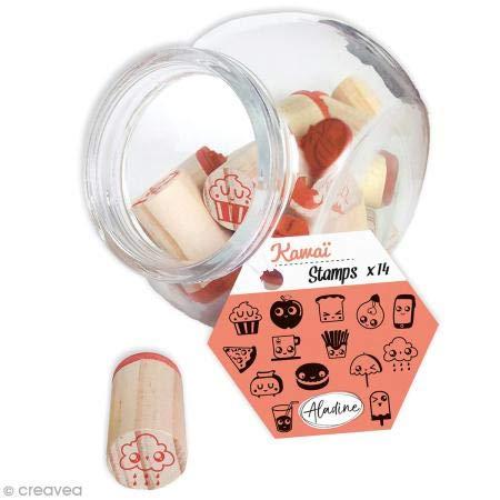 Aladine 85010 Stampo Kawai Vorratsglas