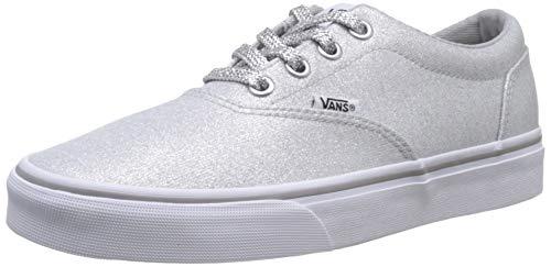 Vans Damen Doheny Sneaker, Grau ((Lurex Glitter) Silver V2a), 38 EU (Glitter-schuhe)
