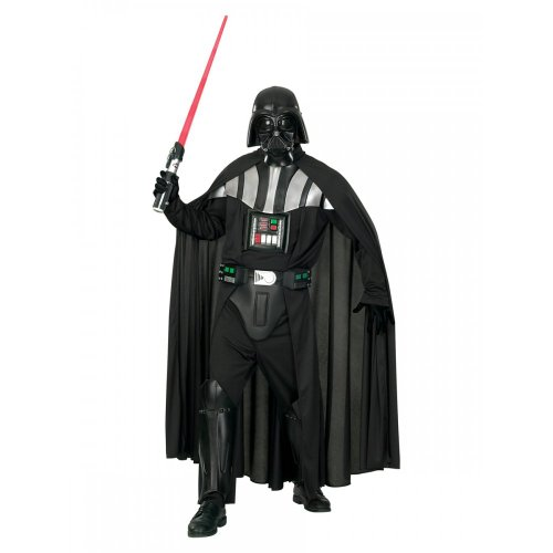 STAR WARS ~ Darth Vader Deluxe - Adult Costume Men: STANDARD