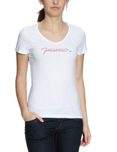 PUMA Damen T-Shirt Bling Script, white, XXL, 819355 02 -