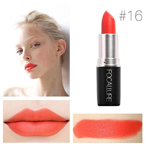 Yogogo - Rouge à lèvres - Nouveau Cosmétiques Mode Métallique our maquillage beauté longue durée 16#
