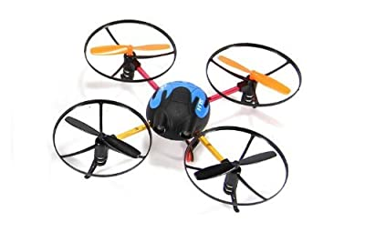 Sh 6044 Stylish Toy Ufo 2.4Ghz 3D 4-Channel Mini Rc Helicopter With Gyroscope With Light Blue Color