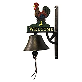 Aljec AFSBR Rooster Wall Bell - Multi-Colour