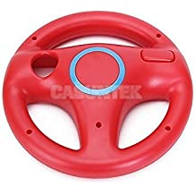 Tradico® 4 X Remote Steering Wheel For Nintendo Wii Game Round Console Remote Controller