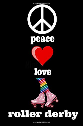 Pdf Descargar Peace Love Roller Derby Homework Book border=