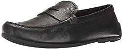Clarks Mens Reazor Drive Slip-On Loafer, Black, 13 M US