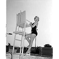 Photo Monroe Marilyn 020 A4 10x8 Poster Print