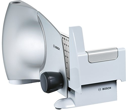 Cortafiambres Bosch MAS6151M rebanadora 110 W, De plástico, Plateado