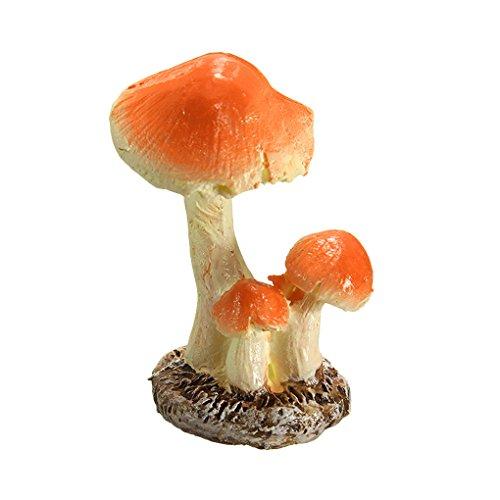 (3Pcs Pilz Toadstool Miniature Garden Figurine Decor Regard)