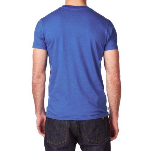 Franklin & Marshall Herren T-Shirt Blau Blau Blau - Blau