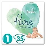 Pampers Pure Protection 35 Windeln, Größe 1, 2-5kg