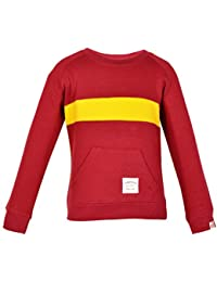 Gkidz Infants Full Sleeve Maroon SweatShirt (INF_WWB-004-MAROON_Maroon)