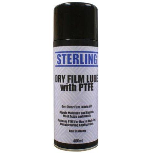 1-x-400ml-400g-dry-film-lube-spray-aerosol-lubricant-coating-oil-car-bike-ptfe