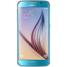 "Samsung Galaxy S6 - Smartphone libre Android (pantalla 5.1"", cámara 16 Mp, 32 GB, Octa-Core 2.1 GHz, 3 GB RAM), azul"