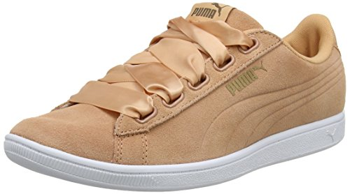 Puma Damen Vikky Ribbon Sd P Sneaker, Orange (Dusty Coral-Dusty Coral), 39 EU