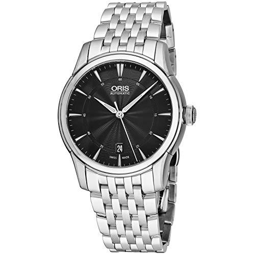 Oris Men's Artelier 40mm Steel Bracelet Automatic Watch 00 733 7670 4054-MB